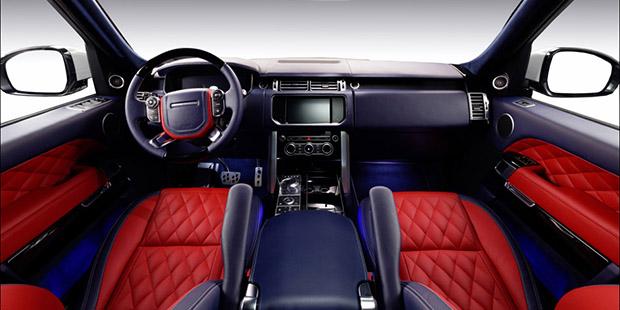 Перешив салона Range Rover
