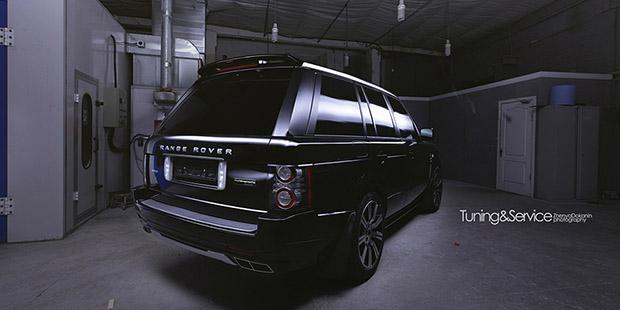 Установка комплекта Startech на Range Rover 2011