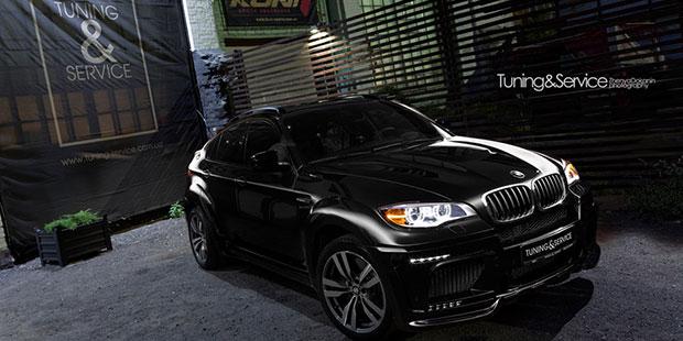 BMW X6M Hamann Tycoon EVO M
