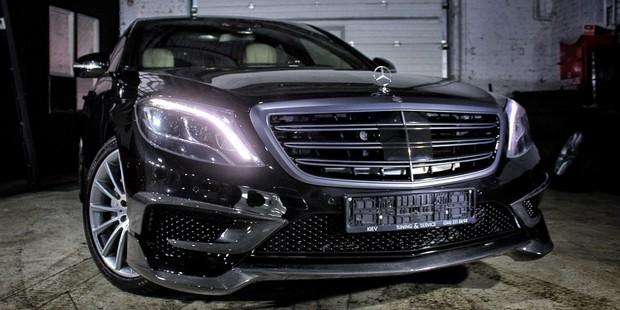 Тюнинг Mercedes-Benz W222 Brabus Rocket