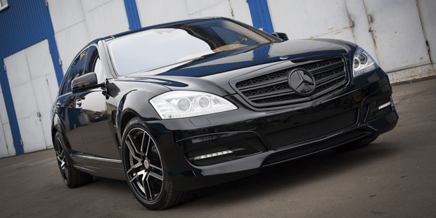 Рестайлинг Mercedes W221