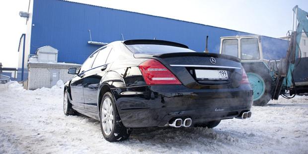 Рестайлинг Mercedes W221 Lorinser
