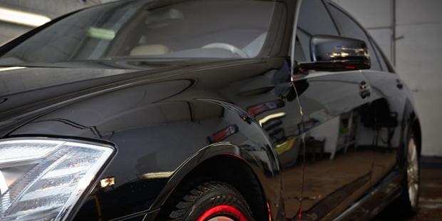 Рестайлинг Mercedes-Benz W221 2008 года в AMG style 2011 + Нанокерамическое покрытие кузова