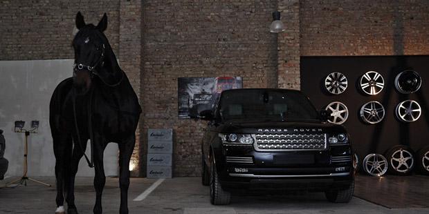 Нанопокрытие Range Rover