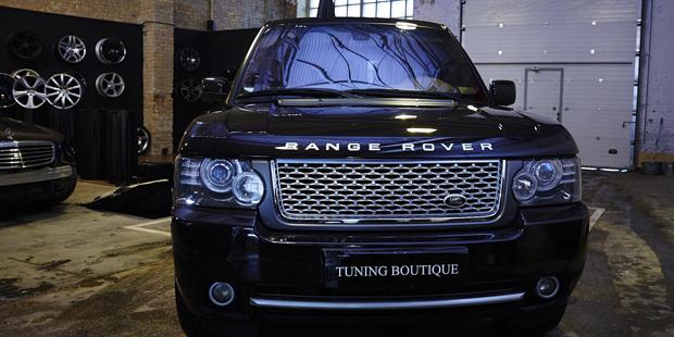 Range Rover решетка и воздухозаборники Autobiography
