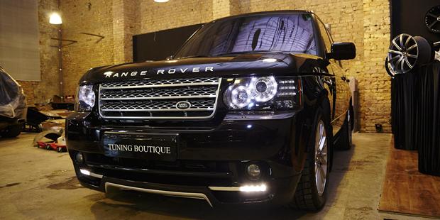 Range Rover STARTECH Tuning NANOкерамика