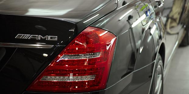 NANOкерамика  Mercedes-Benz W221 63AMG