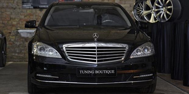 Рестайлинг Mercedes-Benz W221 S500