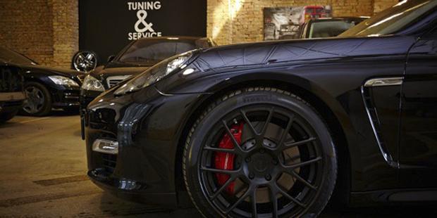 Диски ADV1 для Porsche Panamera Turbo