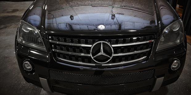 Тюниг Mercedes-Benz ML W164
