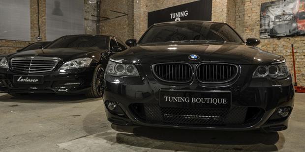 Тюнинг BMW 5 E60 M-пакет + NANOкерамика