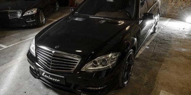 Рестайлинг Mercedes-Benz W221 + тюнинг Lorinser + NANOкерамика