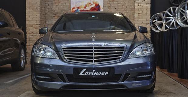 Рестайлинг Mercedes-Benz W221 + тюнинг Lorinser + NANOкерамическое покрытие