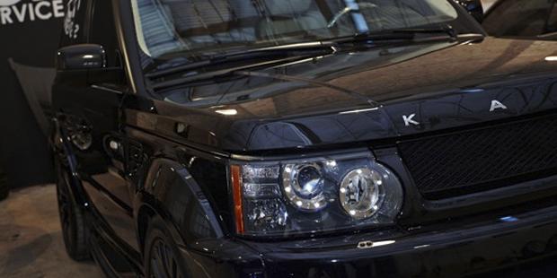 Range Rover Sport тюнинг KAHN DESIGN + NANOкерамика