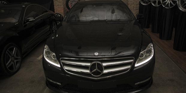 Рестайлинг  Mercedes-Benz CL
