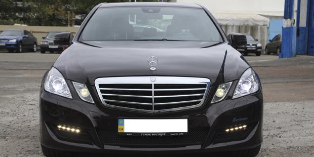 Mercedes Benz E-class W212 Lorinser тюнинг