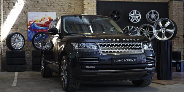 NANOкерамика Range Rover 2013