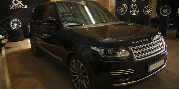 NANOкерамика Range Rover 2013 Autobiography
