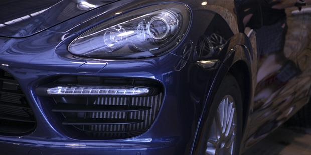 Стайлинг Porsche Cayenne S в Porsche GTS