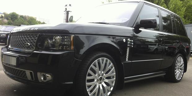 Range Rover Autobiography 2012 + диски KAHN RS 2 Piece