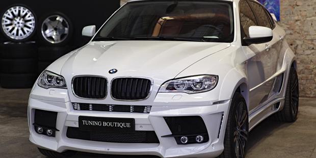BMW X6 LUMMA CLR650