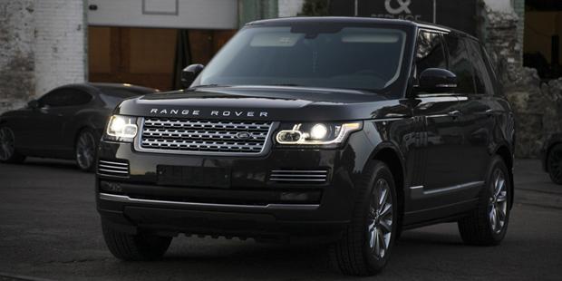 NANOпокрытие Range Rover 2013