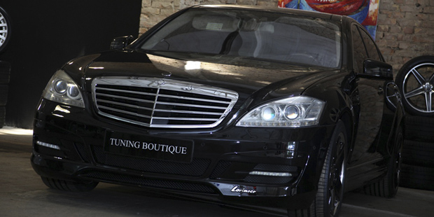 Тюнинг LORINSER для Mercedes-Benz W221... + NANOкерамика