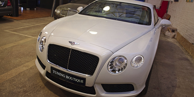 NANOкерамика Ceramic PRO 9H  Bentley GT 2013