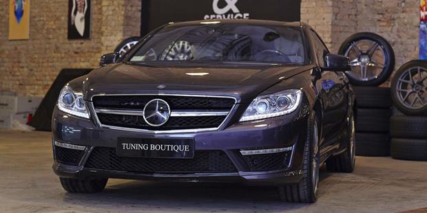 Рестайлинг Mercedes-Benz CL 2009 в  CL63 AMG 2012 + NANOкерамика
