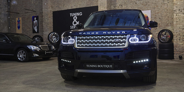 Range Rover 2013 STARTECH + NANOкерамика Ceramic PRO 9H