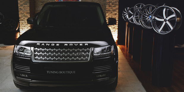 Пакет DARK ATLAS для Range Rover 2013 + NANOкерамика