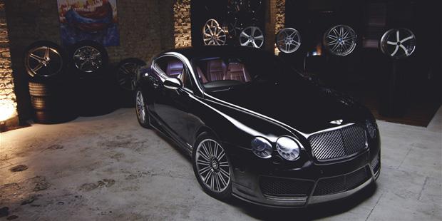 Тюнинг + Рестайлинг Bentley GT 2007 в MANSORY 2010