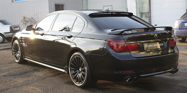 BMW7 Тюнинг HAMANN + NANOкерамика
