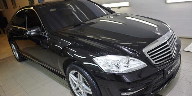 Mercedes-Benz W221 Рестайлинг + NANOкерамика