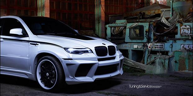 BMW X6 M обвес LUMMA CLR X 650 M