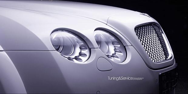 Тюнинг фар Bentley GT 2006 год