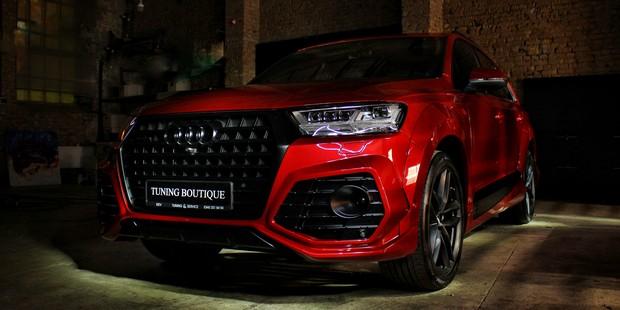 Audi Q7 - обвес ABT и перекраска авто в другой цвет