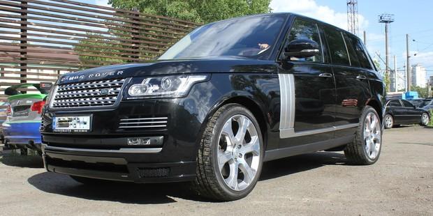 Range Rover Vogue 5.0 - спортивный выхлоп, аэродинамический комплект Hamann