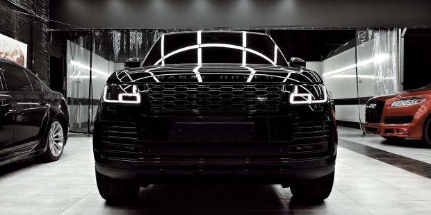 Рестайлинг Range Rover 2018 - 2019 и нанокерамика для кузова