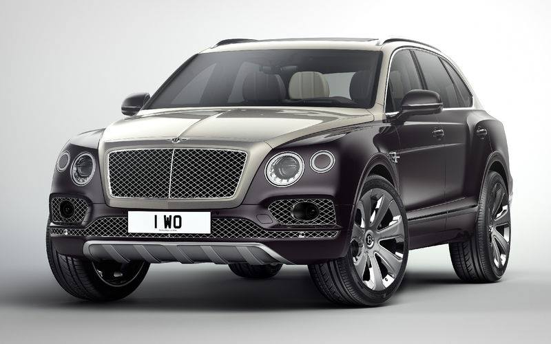 Bentley Bentayga Mulliner - презентация на миллион!