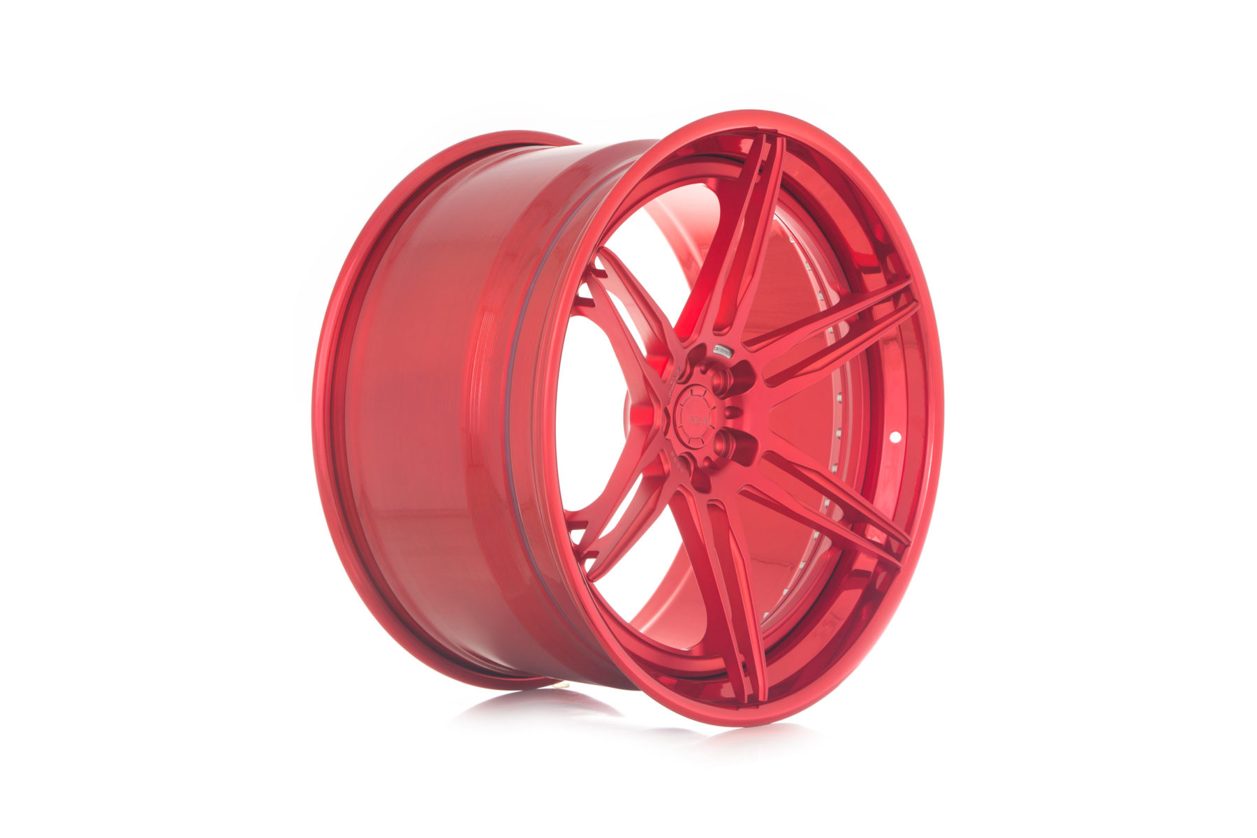 Click to enlarge image adv06-track-spec-cs-polished-aluminum-matte-gloss-red-6-spoke-rims-10-1800x1200.jpg