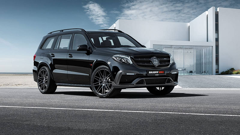Brabus 850 XL for Mercedes-AMG GLS 63 with 850hp