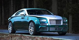 Тюнинг-ателье Mansory презентовало новый обвес для Rolls-Royce Wraith