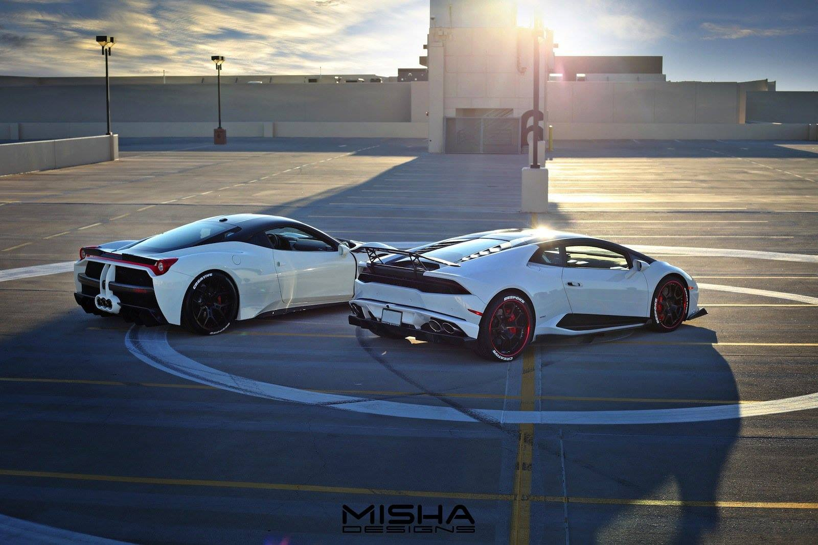 Ferrari 458 Italia with Misha Designs Widebody Kit