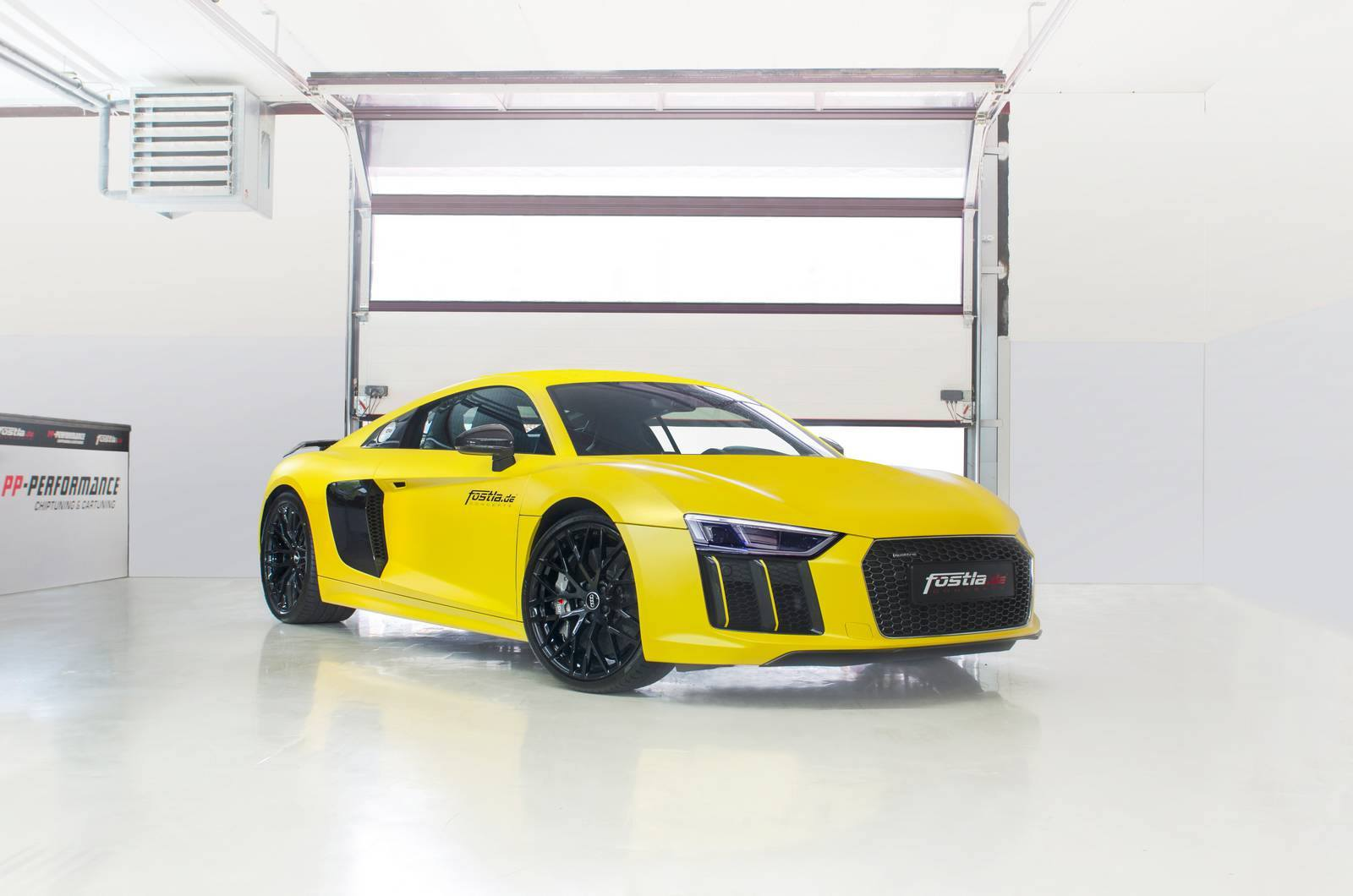 Audi R8 V10 Sunflower Matt-Metallic