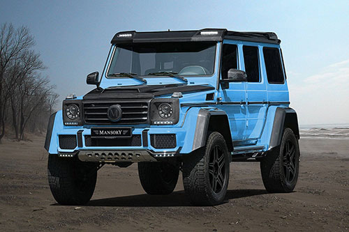 Mercedes-Benz G500 4×4² Mansory